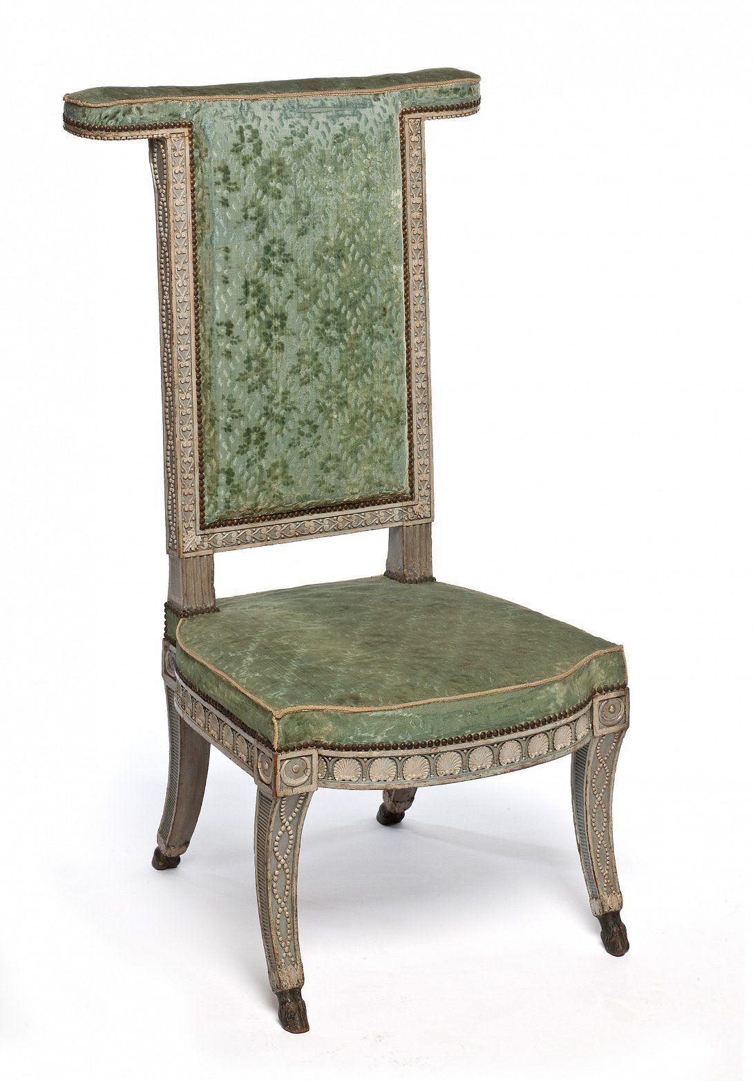 Sene Paire De Chaises Voyeuses 1789 Nissim De Camondo Louis