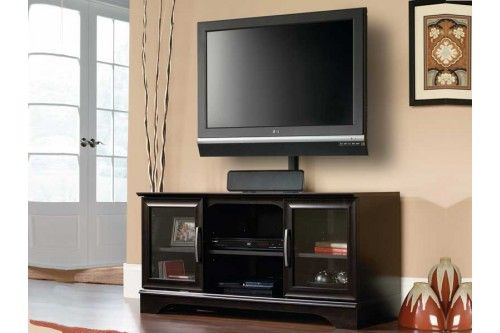 Estate Black Tv Stand With Mount Tv Stands Entertainment Tv