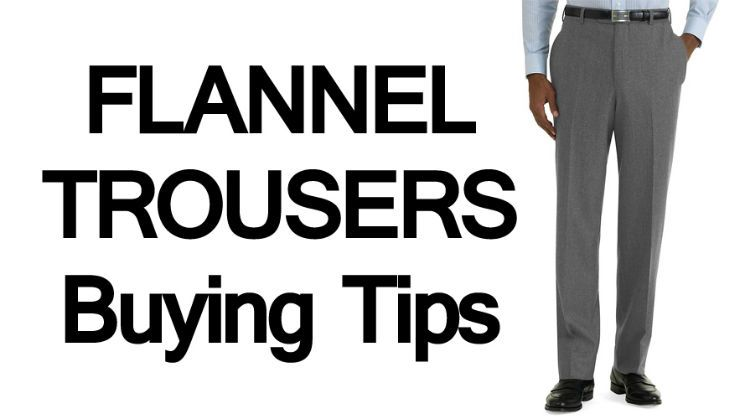 Why Are Flannel Trousers So Hard To Buy?