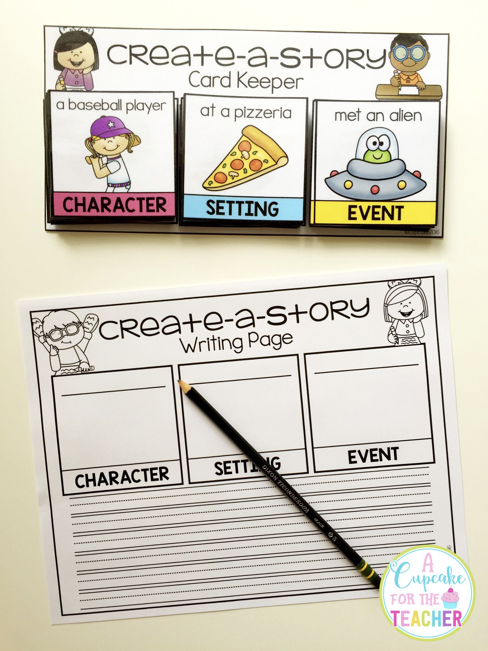 Create A Story Character Setting Amp Event Cards