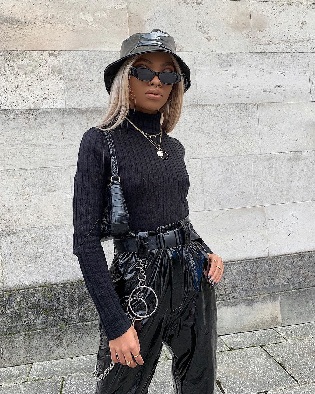 Mpho Lebajoa On Instagram Currently Collecting Bucket Hats Tap For Product Details Outfits With Hats Black Bucket Hat Outfit Street Style Black Hat Outfit