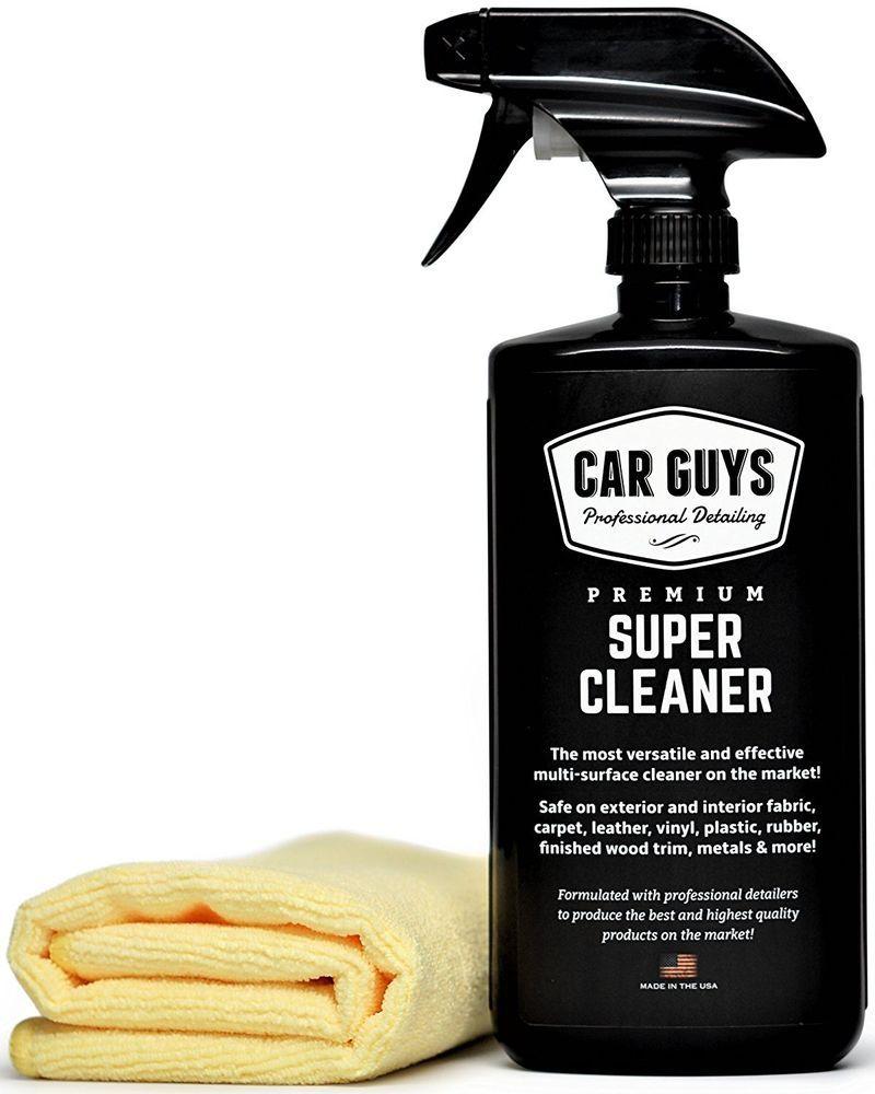 Carguys super cleaner for rubber leather vinyl carpet
