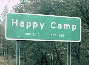 Happy Camp California The Karuk name for Happy Camp is