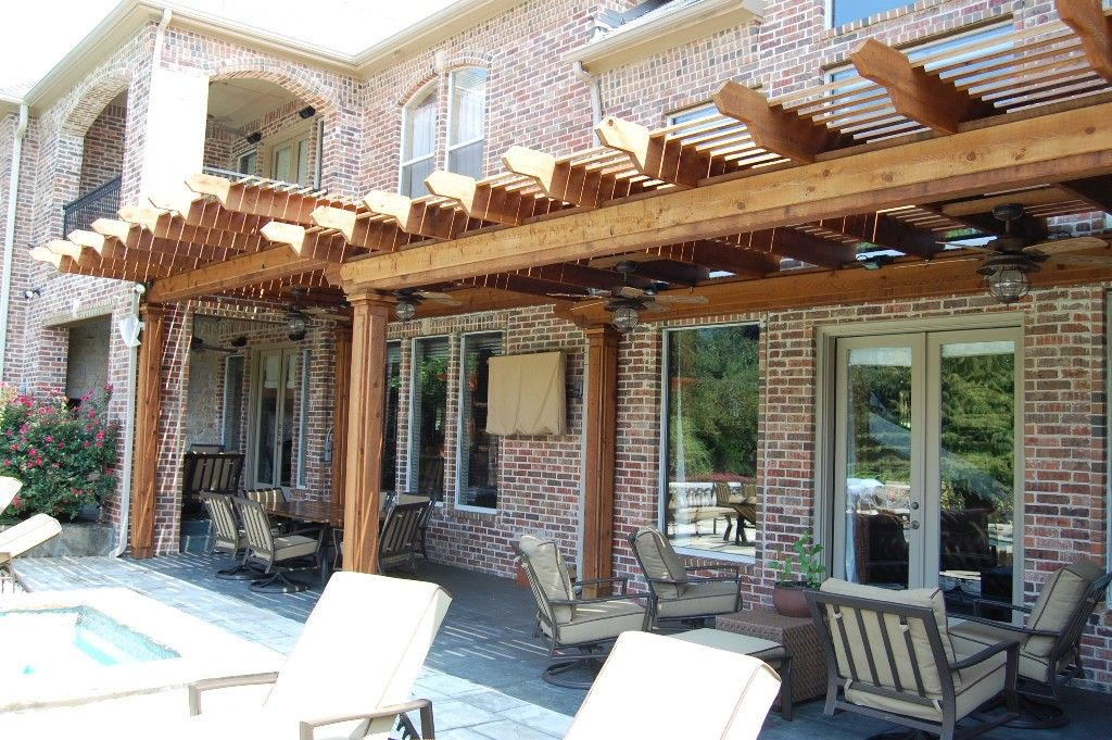 Covered patio designs patio cover design ideas custom for Small patio shade ideas