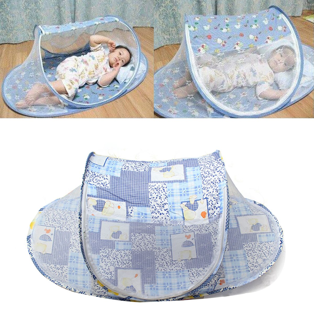 Portable Foldable Baby Mosquito Tent Travel Infant Bed Net Instant Crib Pop Up  sc 1 st  Pinterest & Portable Foldable Baby Mosquito Tent Travel Infant Bed Net Instant ...