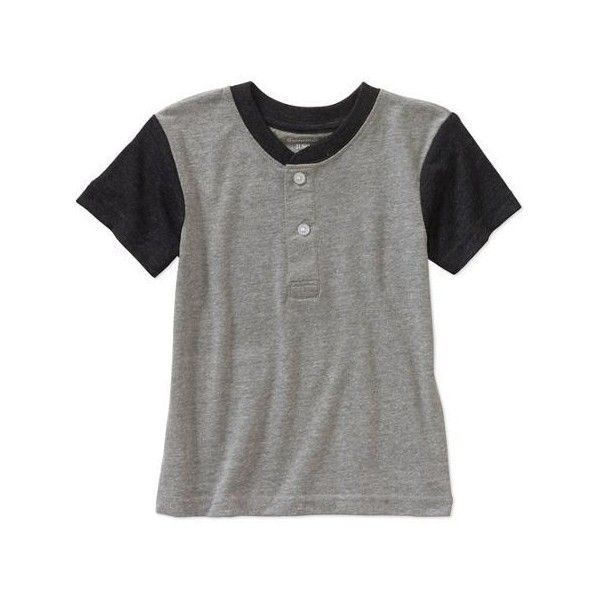Walmart Baby Boy Clothes Garanimals Baby Toddler Boy Henley Tee Shirt Walmart $488