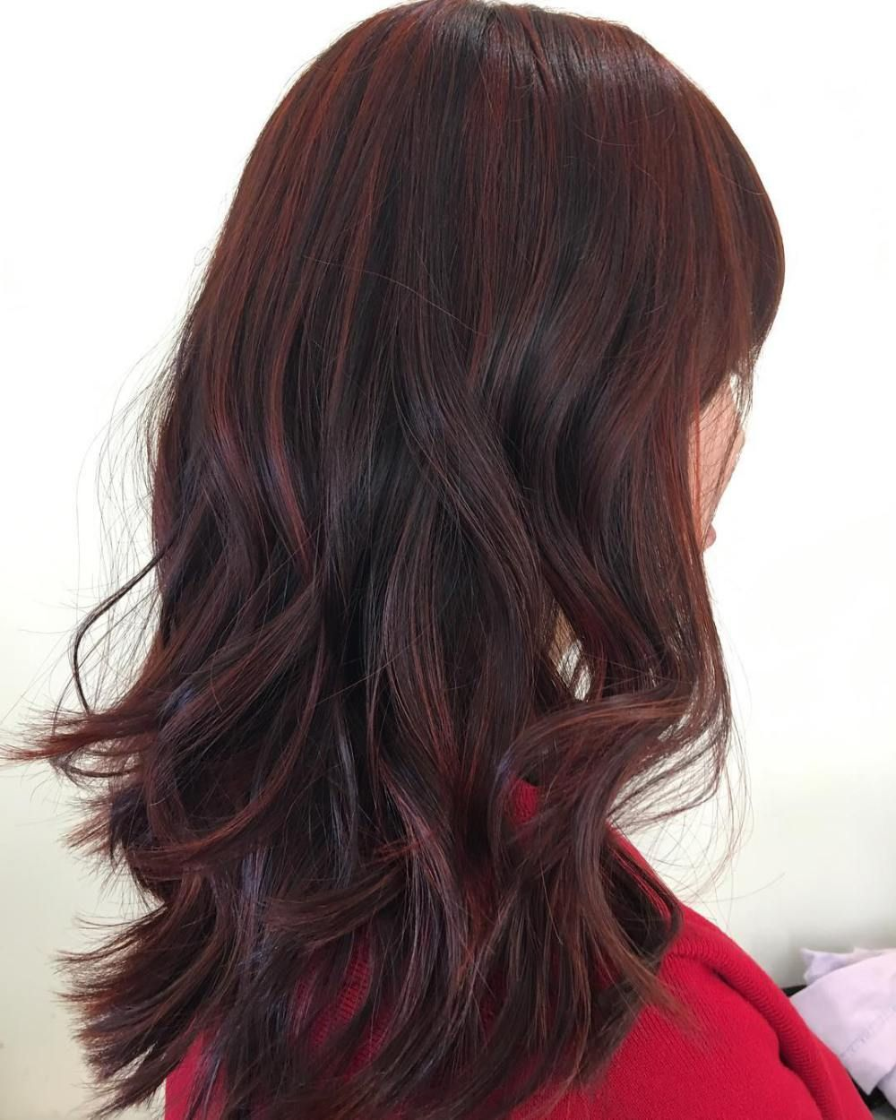 45 Shades of Burgundy Hair: Dark Burgundy, Maroon ...