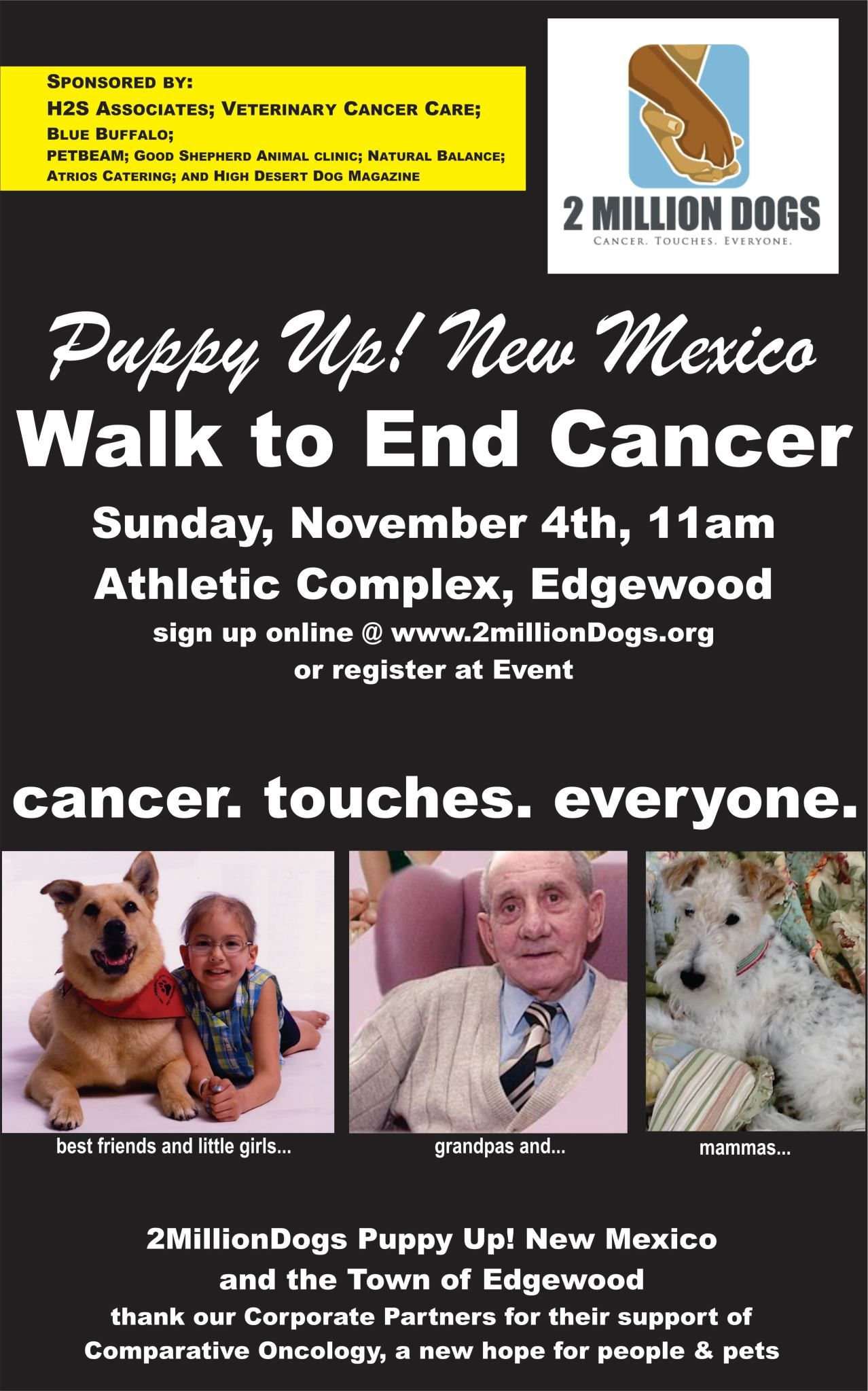 Please Share Join Us Tomorrow In Our Walk To End Cancer 2 Million Dogs Supports Research In Comparative Oncology Meaning Dog Cancer Pet Clinic Dog Magazine