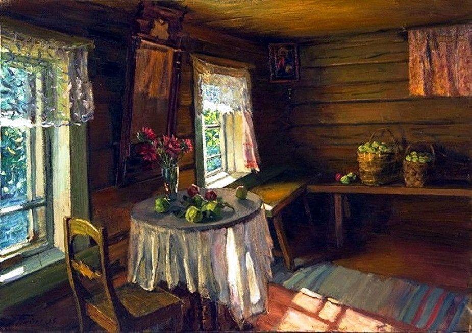 русские избы в картинах художников что наиболее
