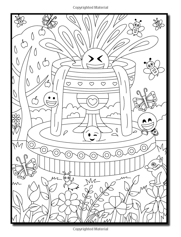 emoji a coloring book with 50 fun easy and hilarious coloring pages perfect gift for emoji lovers
