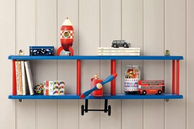 Lovely Airplane Shelf For Kids Rooms