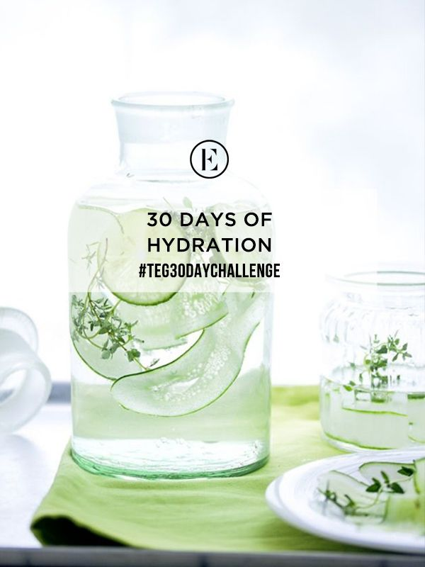 30 Day Challenge: Drink 8 Eight Oz. Glasses of Water Each Day #theeverygirl