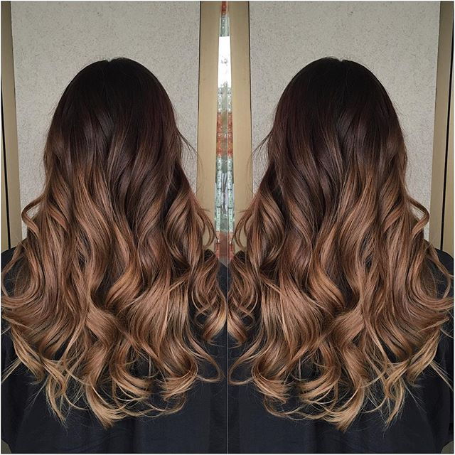 Colour Melt Dark Chocolate To Caramel Hair Amp Beauty
