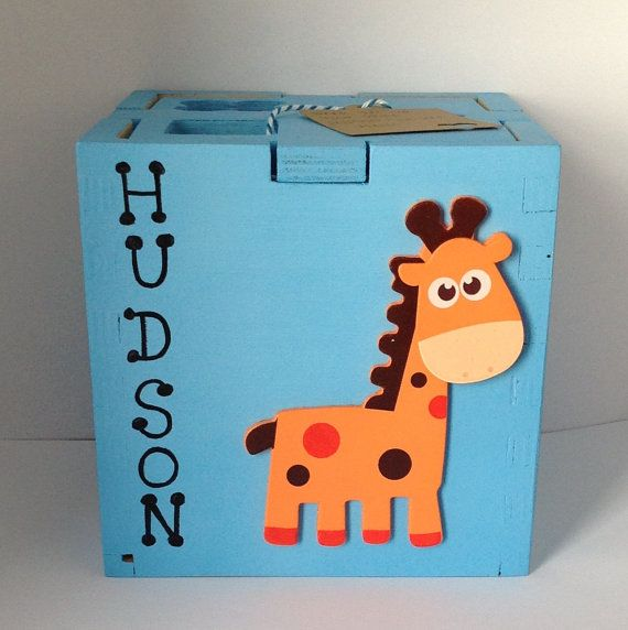 Personalized shape sorting cube customized toddler toy educational personalized shape sorting cube customized toddler toy educational wood toy gift for a one year old boy or girl wood toy customize toddler negle Image collections