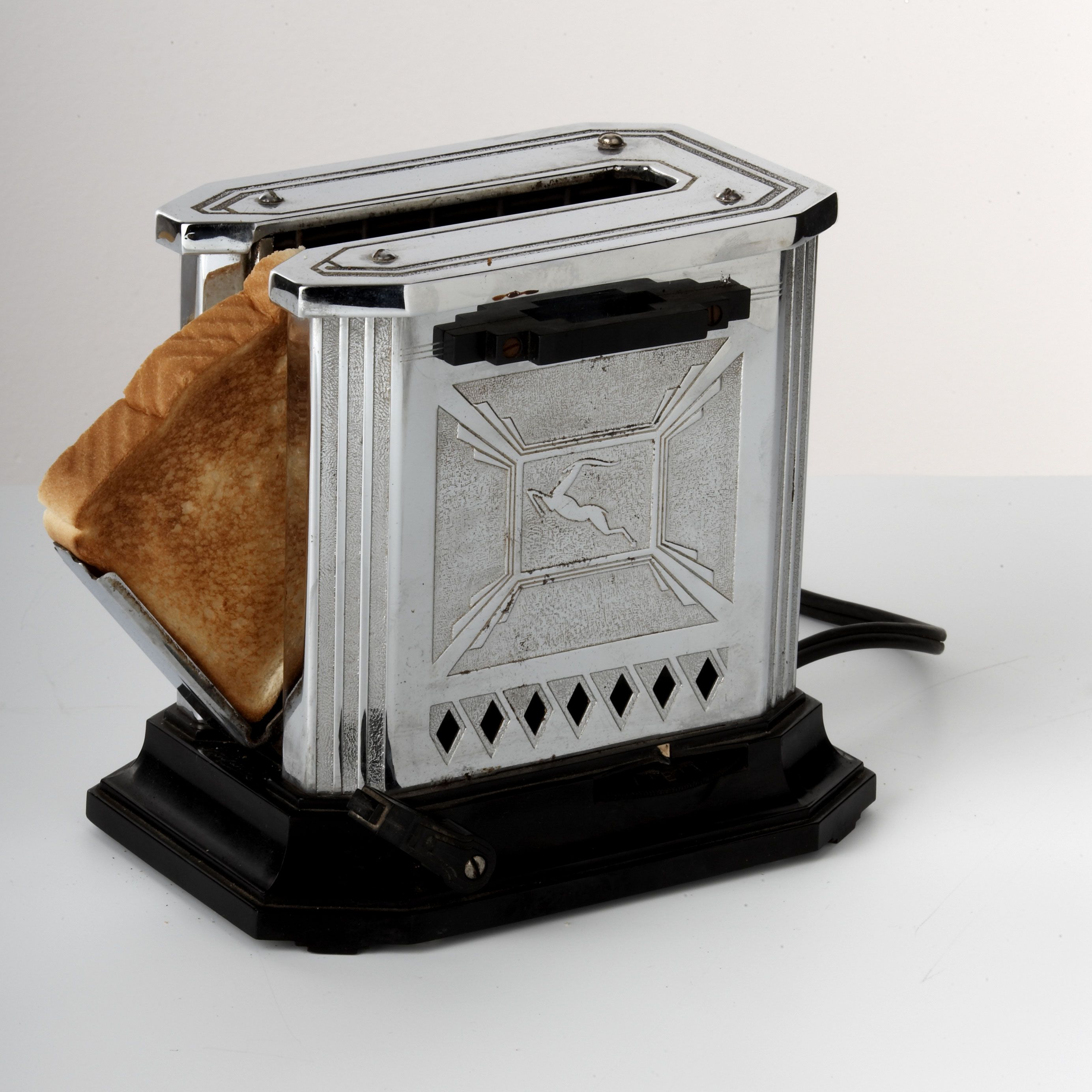 Information On The Toaster ~ Hotpoint gazelle toaster from s generalelectric