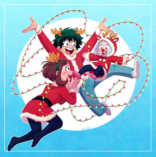 ᐛ 」∠)_, merry christmas! \o/ i finally got my surface back... in 2020 | Anime child, Anime, Hero