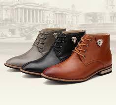 e47bb94de7c Resultado de imagen de botas media caña de vestir para hombres ...