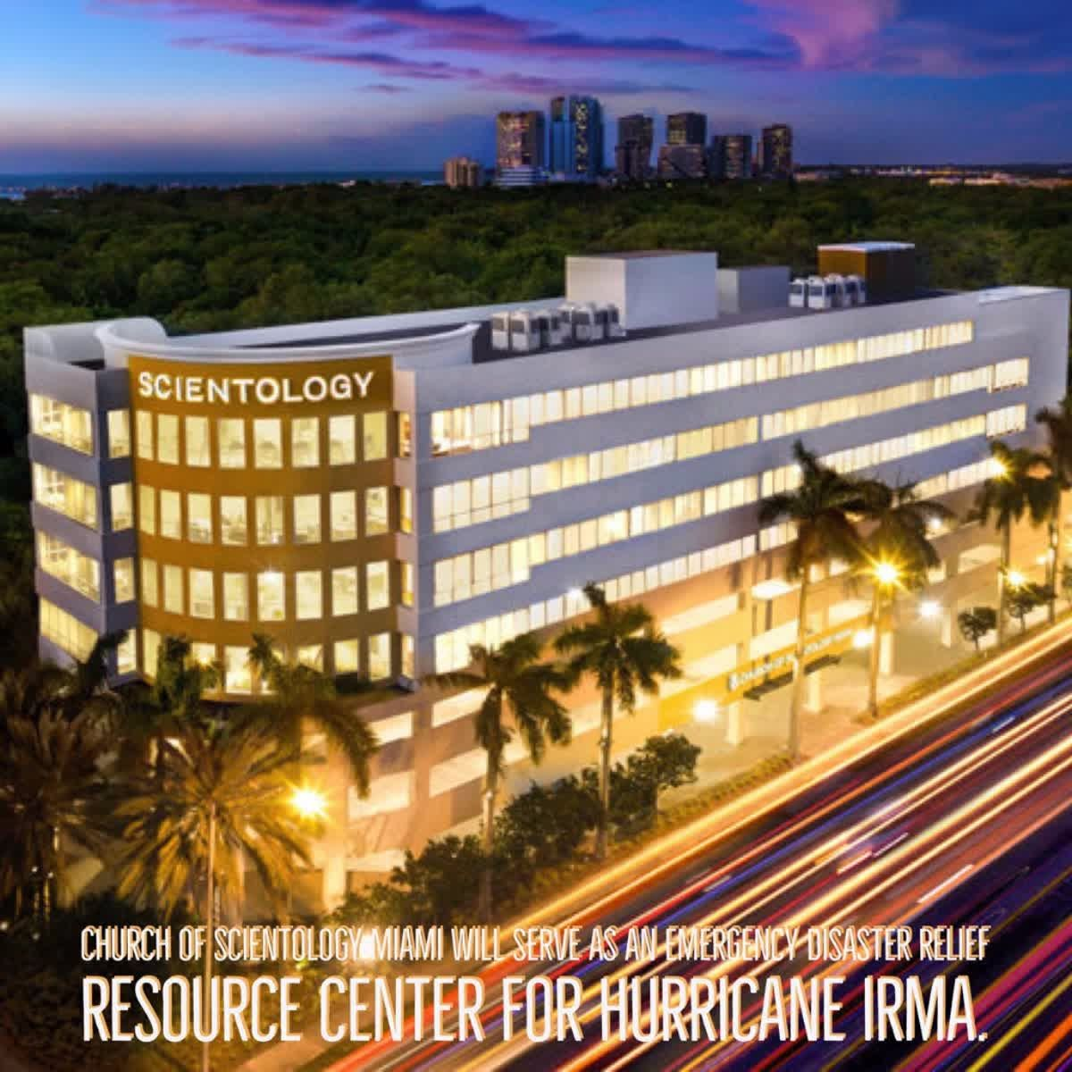Scientology Miami Media Advisory How To Prepare For Hurricane Irma Get The Story On The Sc National Hurricane Center Safe Locations Church Of Scientology