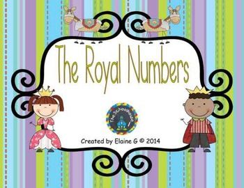 The Royal Numbers Game Mat