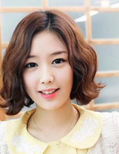 Korean Curly Bangs With Short Google Search Diversity - Short hair curly korean