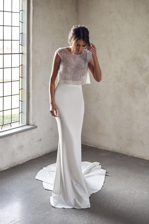 Darcy Separate Skirt Anna Campbell In 2020 Wedding Dress Trends Bridal Dress Stores Wedding Dress Inspiration