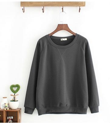 بلوفر سادة شتوي Fashion Sweaters Sweatshirts