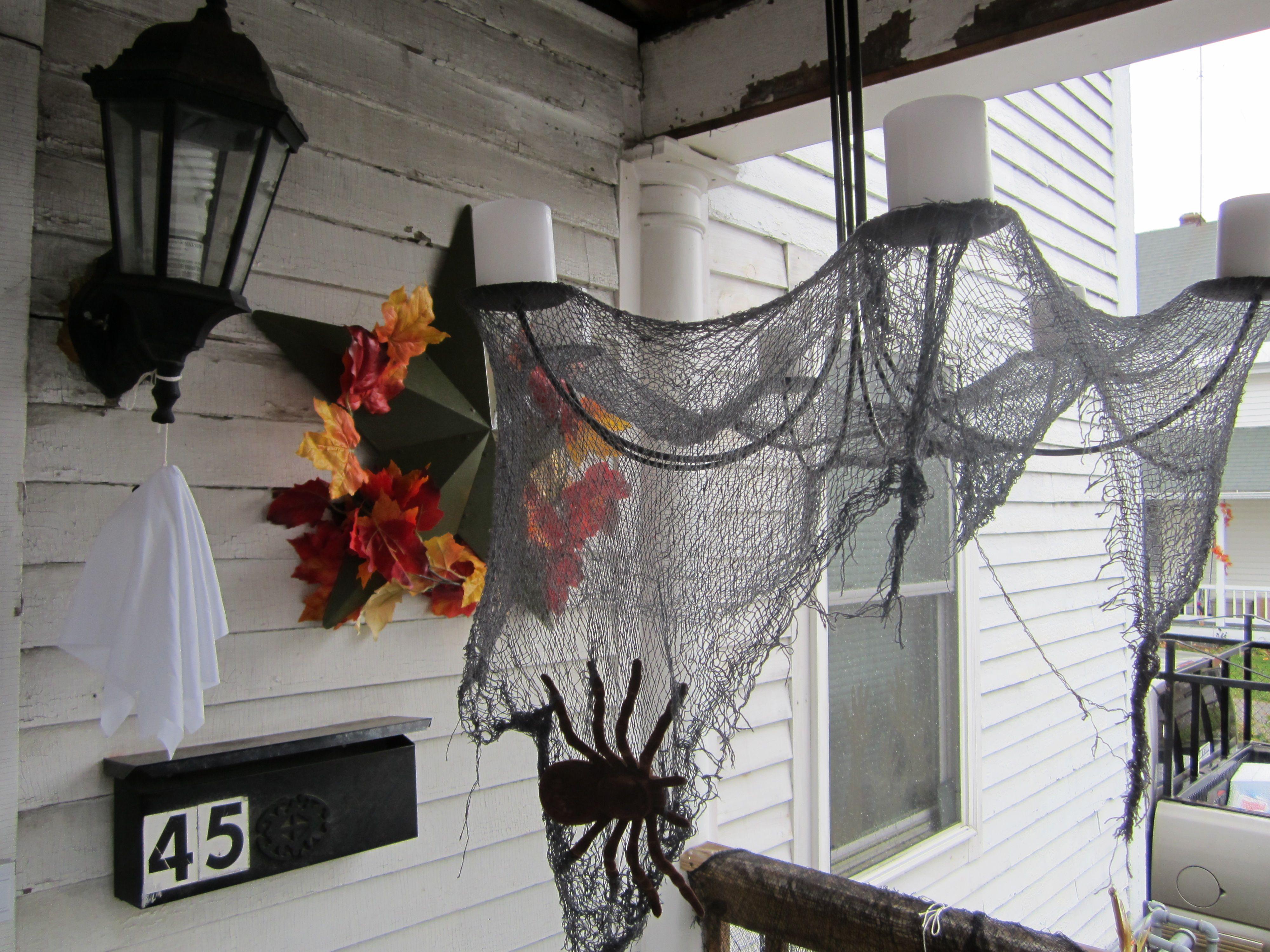 HALLOWEEN CREEPY CLOTH WINDOW TABLE DOOR SPOOKY FANCY DRESS PARTY DECORATION