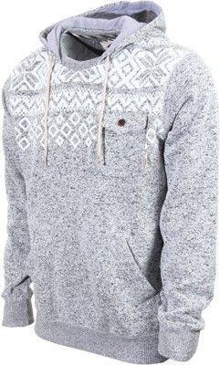 3da7ad89132c Vans Flurry Hoodie - lunar rock heather - Men s Clothing   Hoodies    Sweaters   Hoodies   Pullover Hoodies