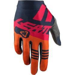 Photo of Leatt Gpx 1.5 GripR Ink Motocross Gloves Blue Orange S Leatt Brace