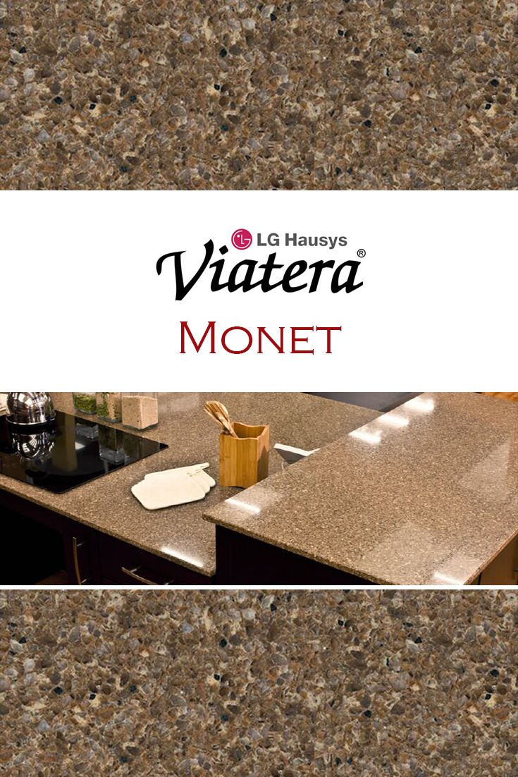 monet by lg viatera is perfect for a kitchen quartz countertop