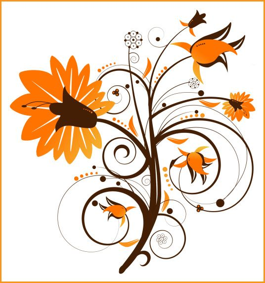 31+ Fall flowers clipart images ideas in 2021