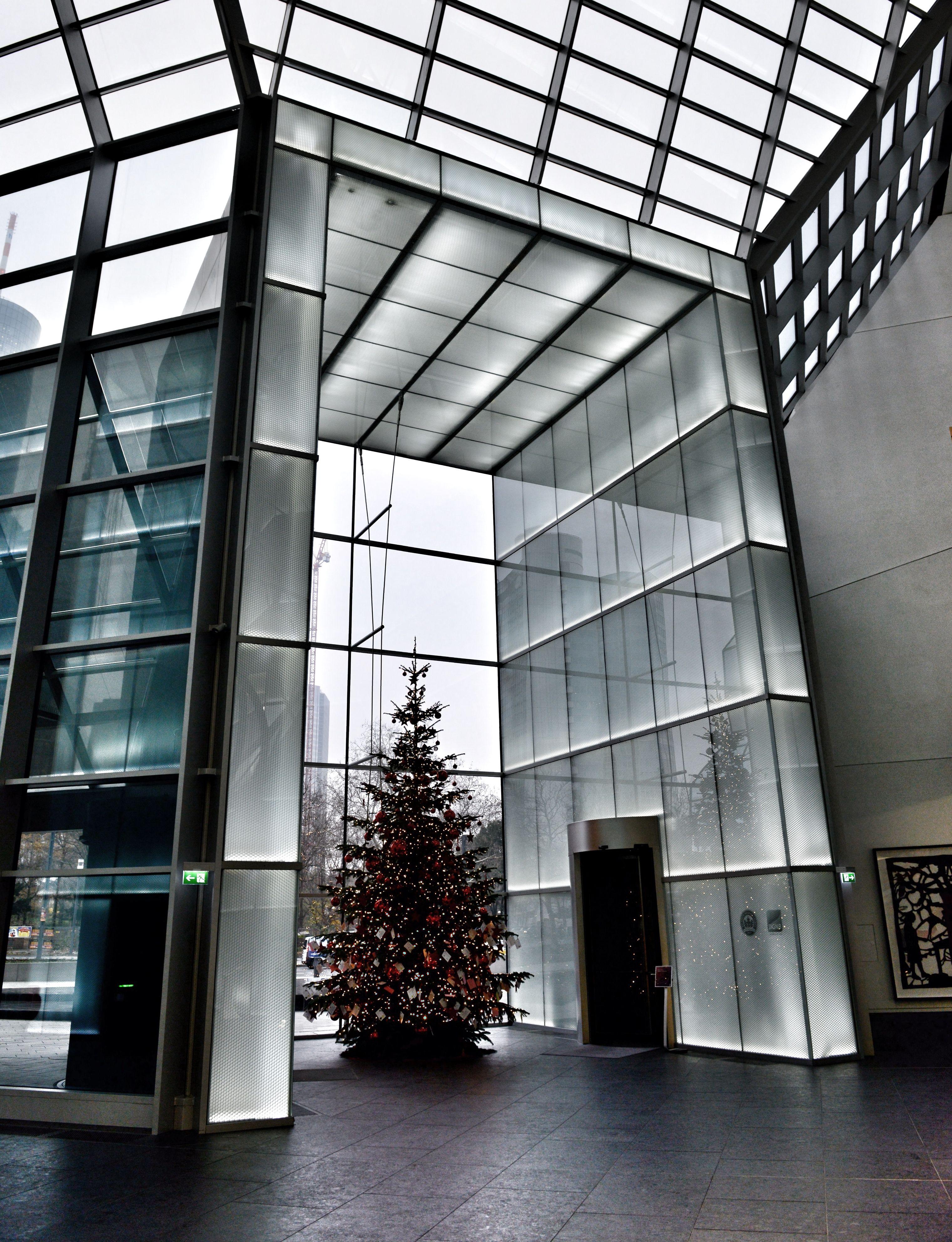 Deutsche Bank Frankfurt Architecture, Home decor, Decor