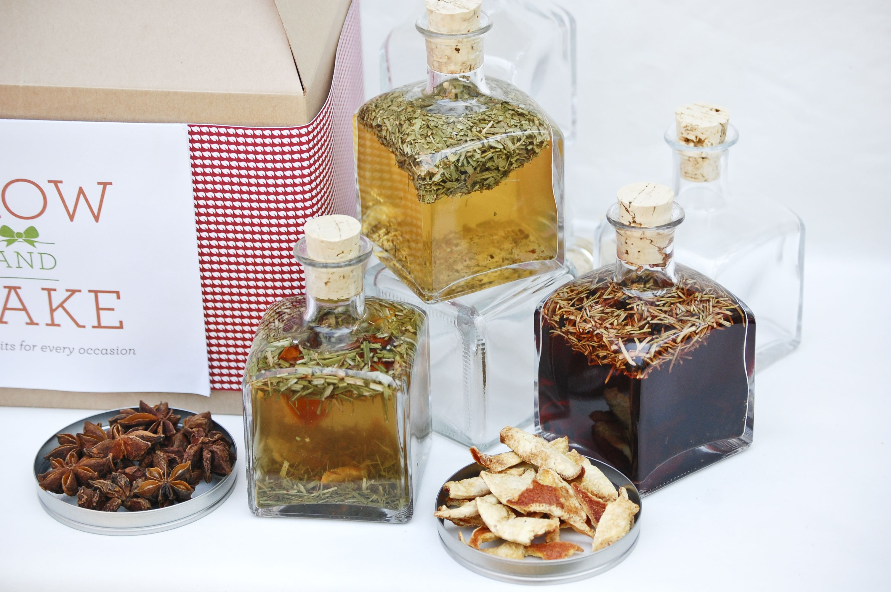 Start making your own infused vinegars and put them in