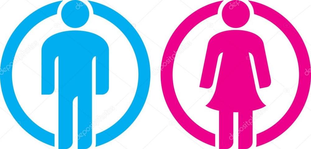 Carteles De Bano De Hombre Mujer Buscar Con Google Carteles De