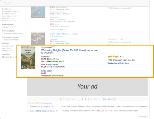 Amazon Marketing Services (AMS) - Create a new KDP Ad campaign
