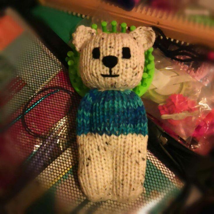 Teddy Bear Comfort Doll Knitting Bear Knitted Animals