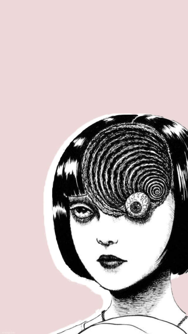 Eyebagchan Wallpapers Horror Manga Edition Junji Ito Various Horros Transparent Pngs Used Are Not Mine If T Anime Wallpaper Junji Ito Japanese Horror