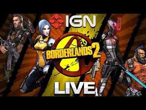 Borderlands 2 E3 2012 Gameplay IGN Live Borderlands