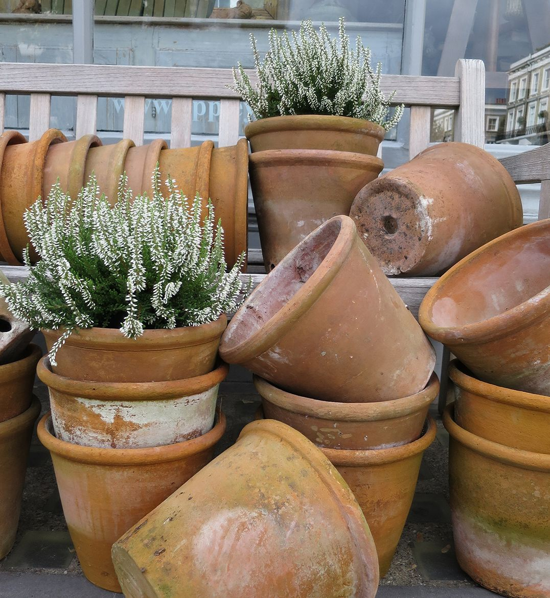 add character corner this pin artefacts my balcoy herbs and to shrub planters of much terracotta planter so