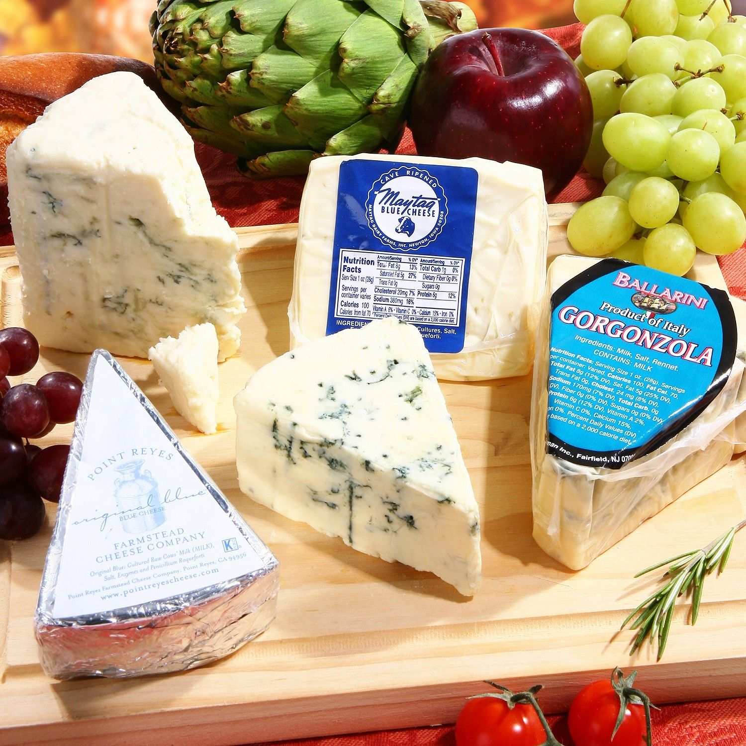 Blue cheese lover gourmet gift meat gifts food