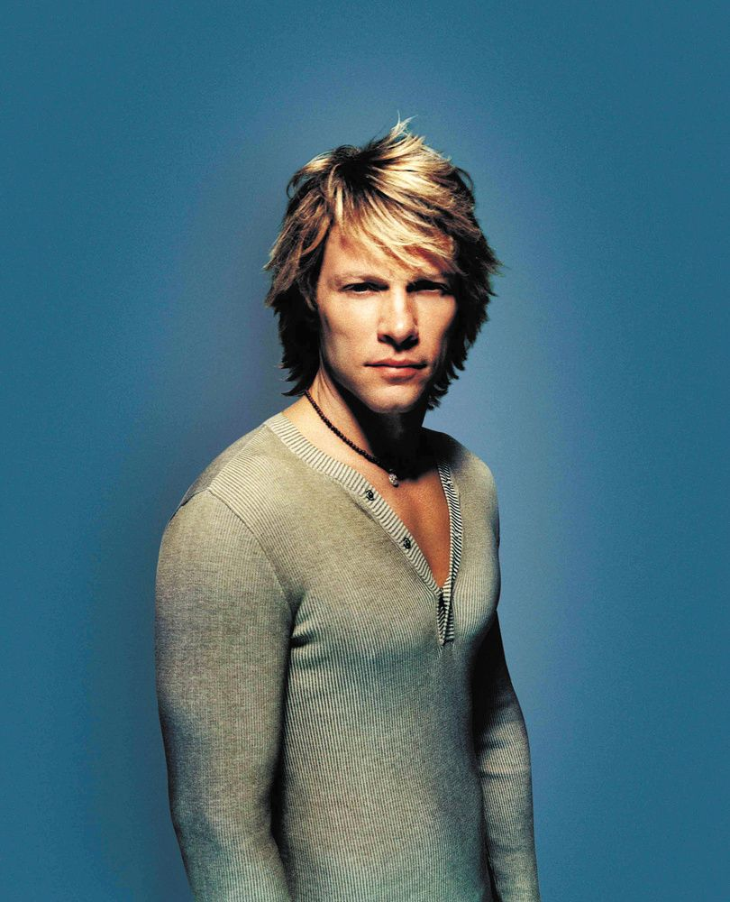 cool artwork of jon bon jovi | Portrait von Jon Bon Jovi