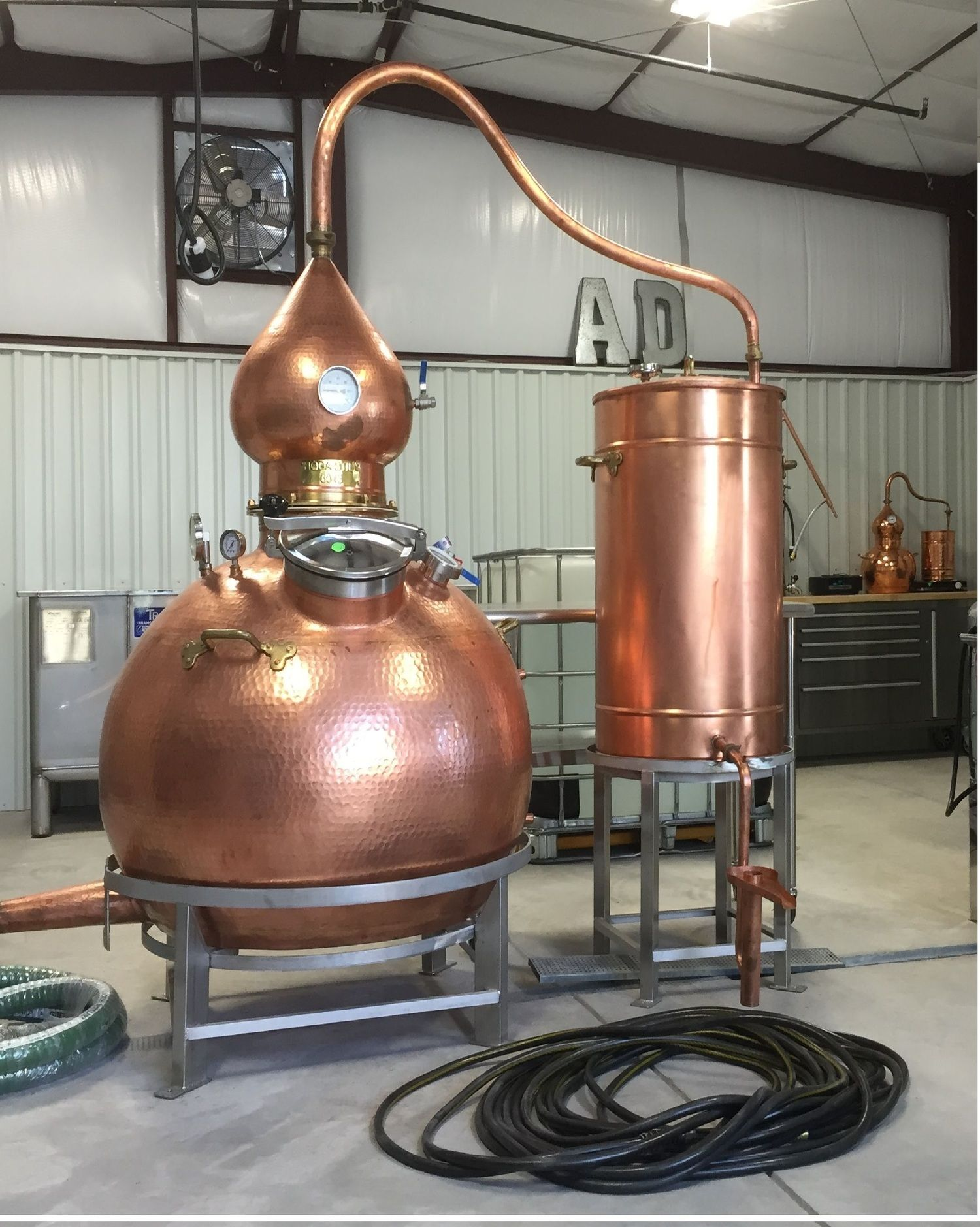how to make a small whiskey still