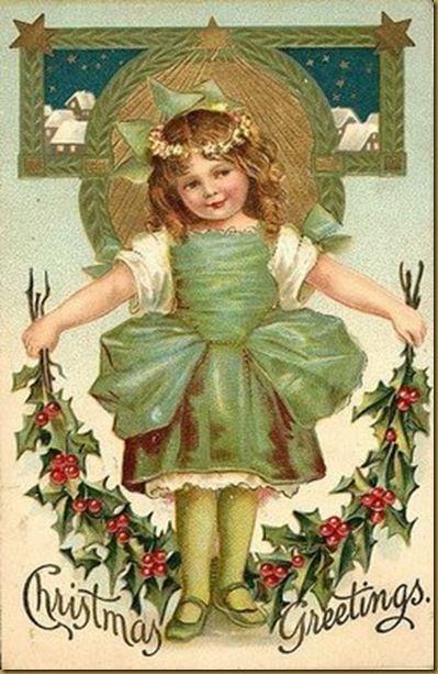 vintage ~ christmas greetings