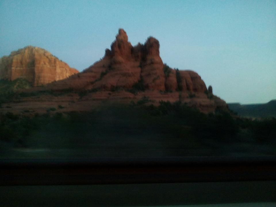 Late afternoon in Sedona AZ
