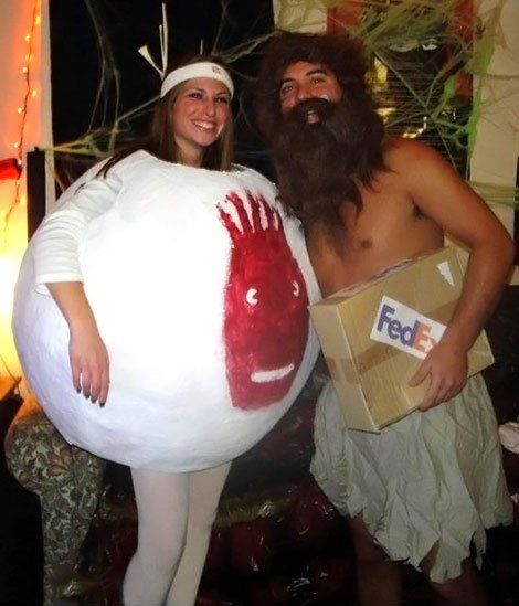Coolest Adult Cast Away Couple Costume Awesome, Costume ideas and