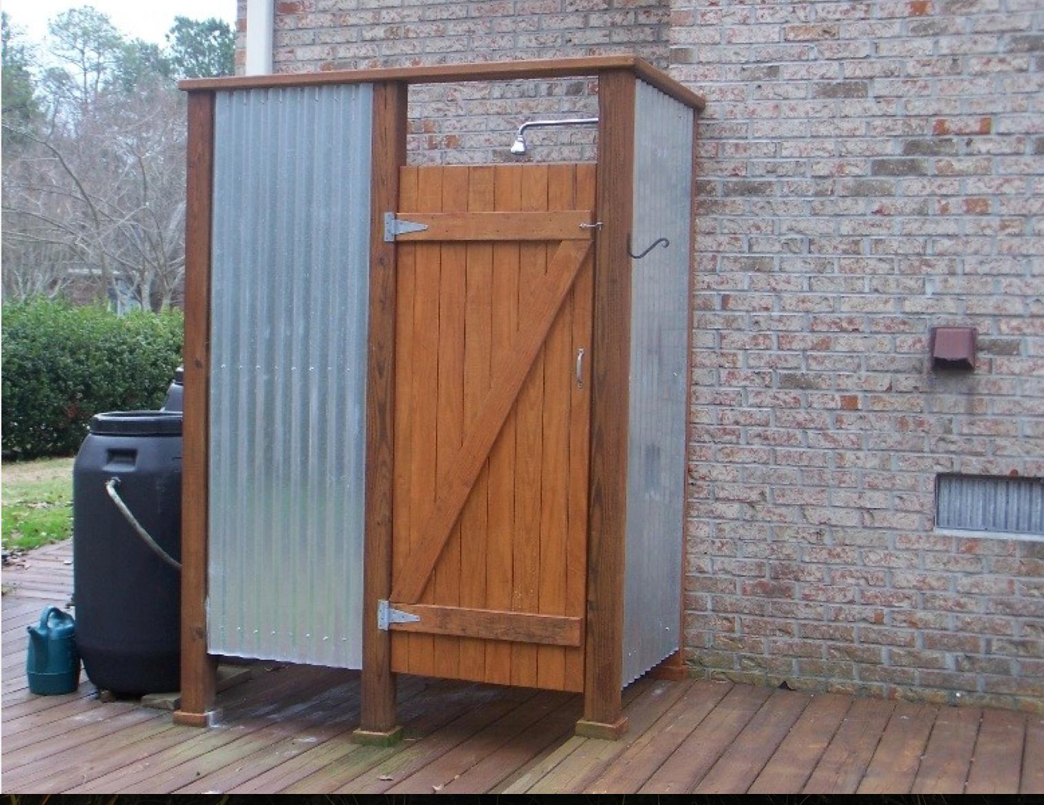 outdoor shower beach house pool pinterest backyard cabin