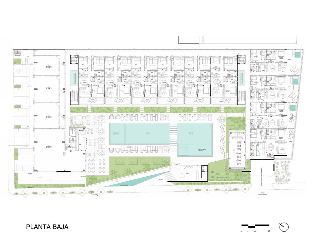 Gallery Of Oceana Hotel Rdlp Arquitectos 25 In 2020 Boutique Hotels Design Ground Floor Plan Hotel