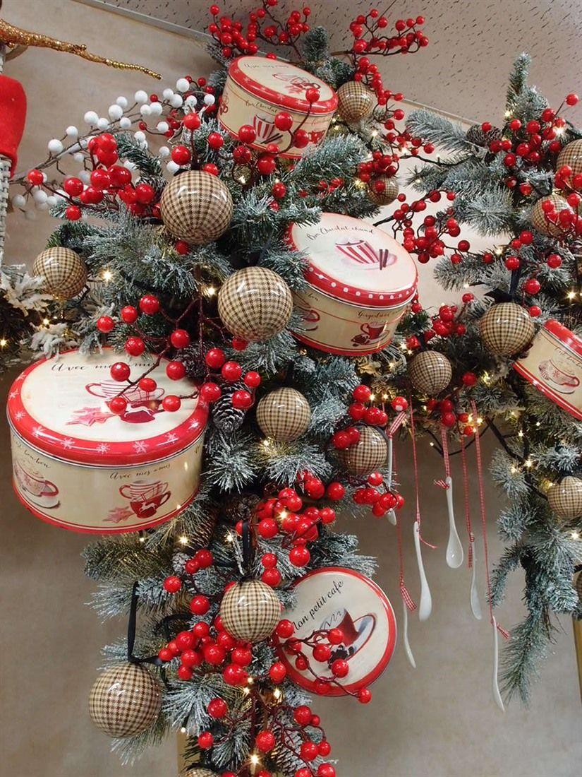 Tantissime idee natalizie concentrate in un piccolo angolo for Idee decorazioni casa fai da te