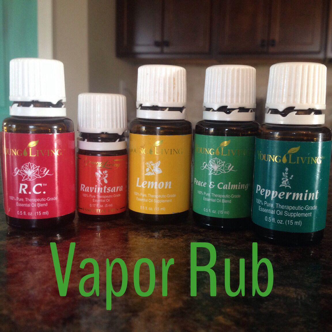 Homemade vapor rub! 1/4 cup coconut oil 3 drops each oil. Jen miller member #1640050  #lemondropper