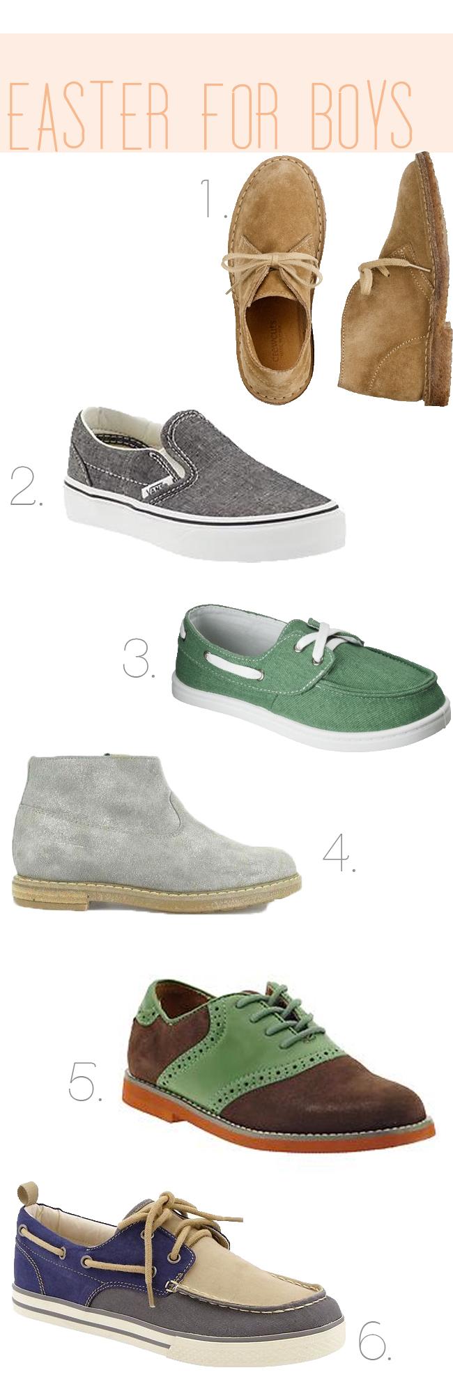 blue closet, BOYS easter shoes
